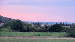 Morning vista from Theziers