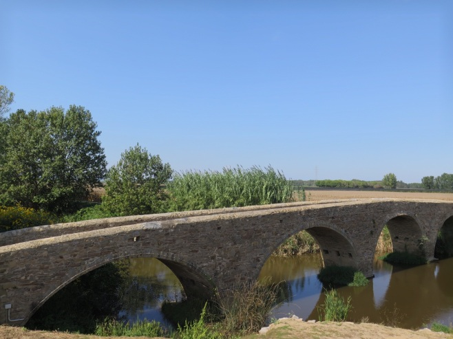 Old bridge on day 23