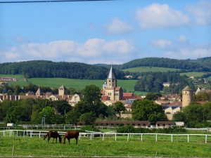 View on Cluny