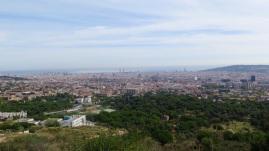 Carreterra de les Aiguës - view on Barcelona (2)