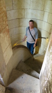 Stairs in Sagrada Familia -2