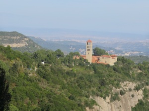Abbey on Montserrat
