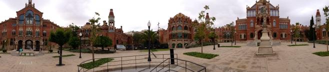 Hospital San Pau - Panorama