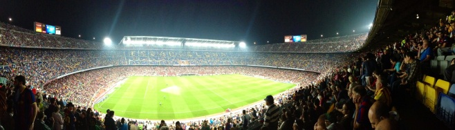 Camp Nou (Barcelona) Oct. 18th 2014
