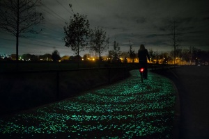 Solar powered Bicycle path in Brabant 1