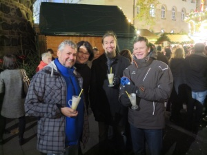 Glühwein with friends