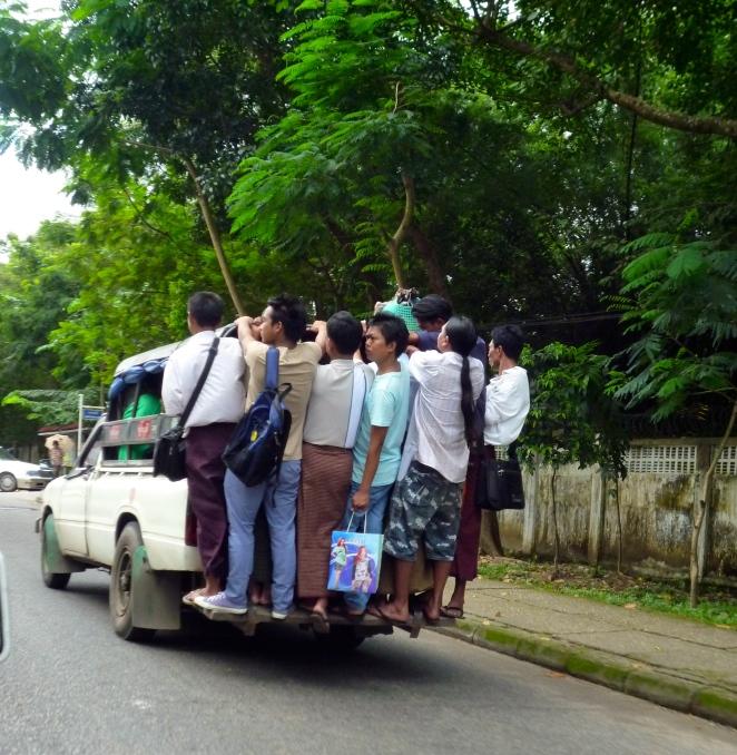 Public Transport Yangon Style
