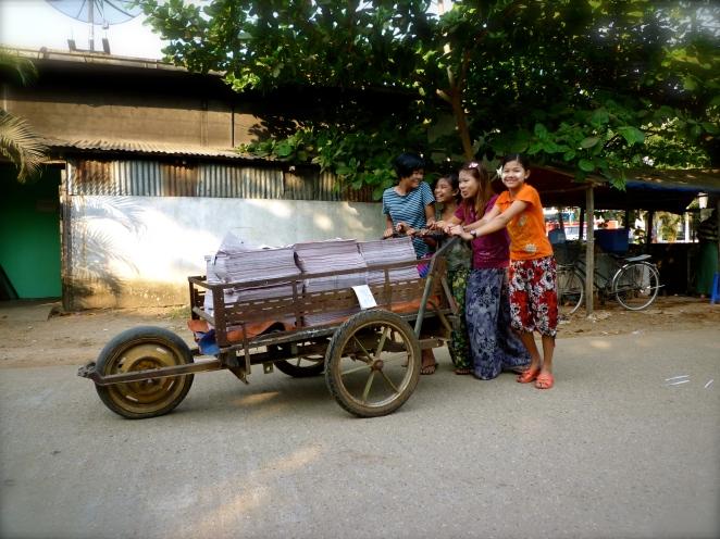 Girls in Myanmar