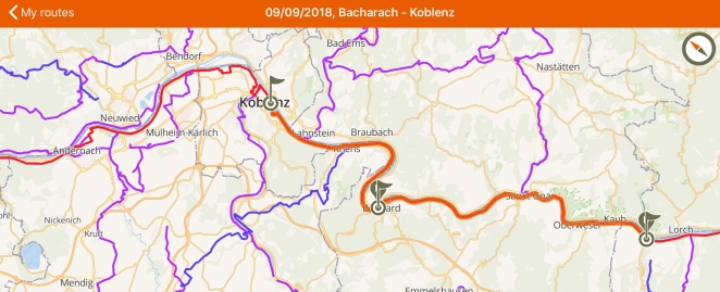 Neckarradweg Karte.Kottiblog Travels On And Off The Beaten Track